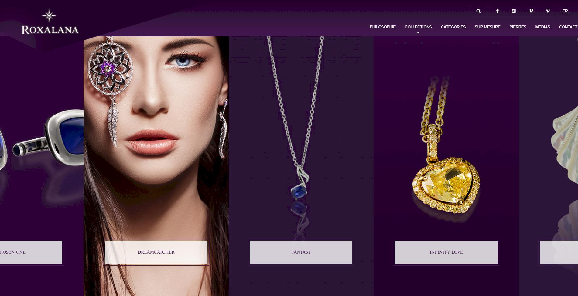 accueil roxalana kalfeutre webdesign lyon