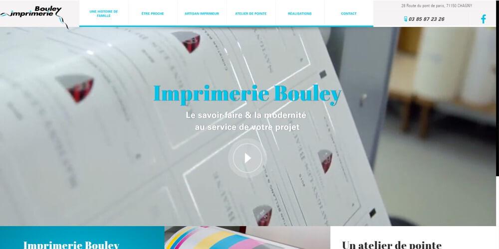 Détail site imprimerie Bouley