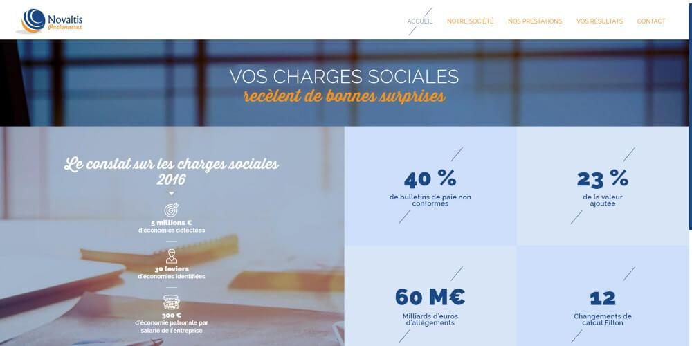 Novaltis Partenaires - Kalfeutre - page accueil du site