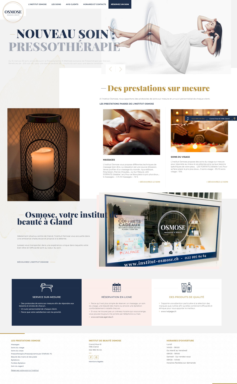 osmose institut kalfeutre webdesign