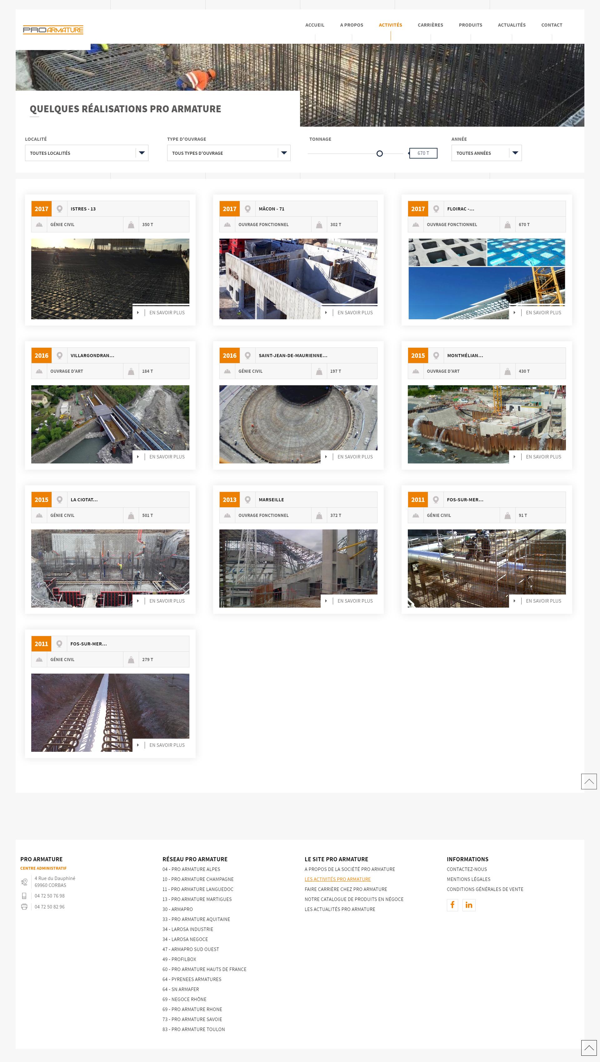 pro ,armature, kalfeutre site internet developpement web