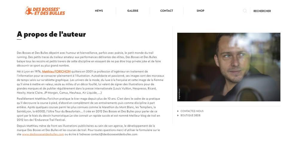 sylvain chirollet, webdesigner conception site internet lyon, site dbdb