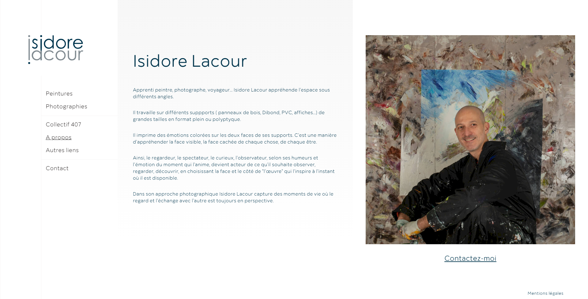 about isidore lacour, kalfeutre webdesigner freelance lyon