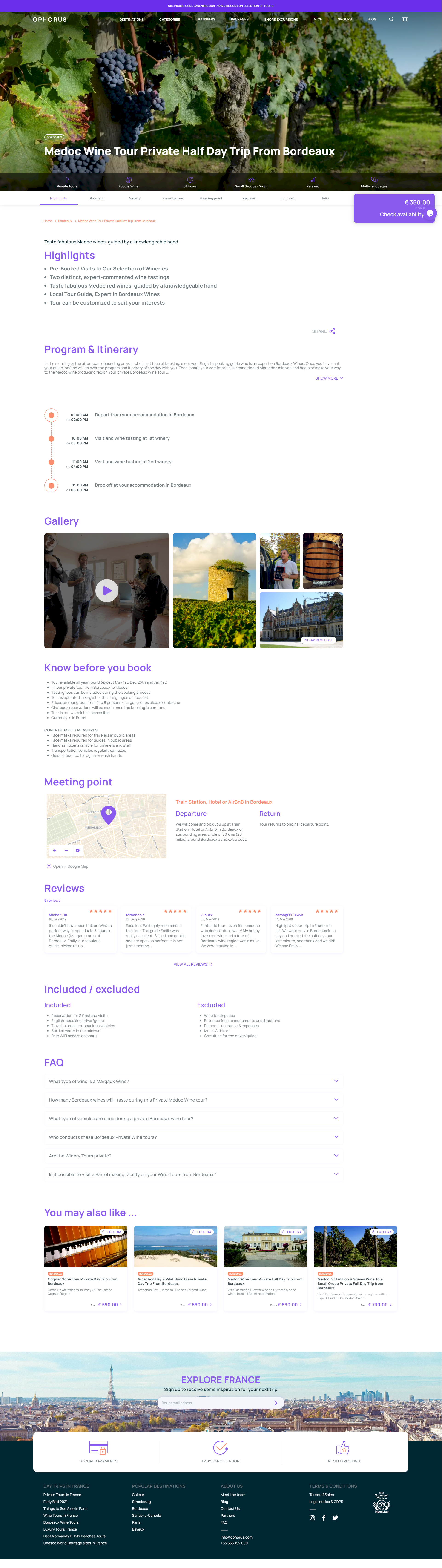 page produit, conception site web kalfeutre lyon